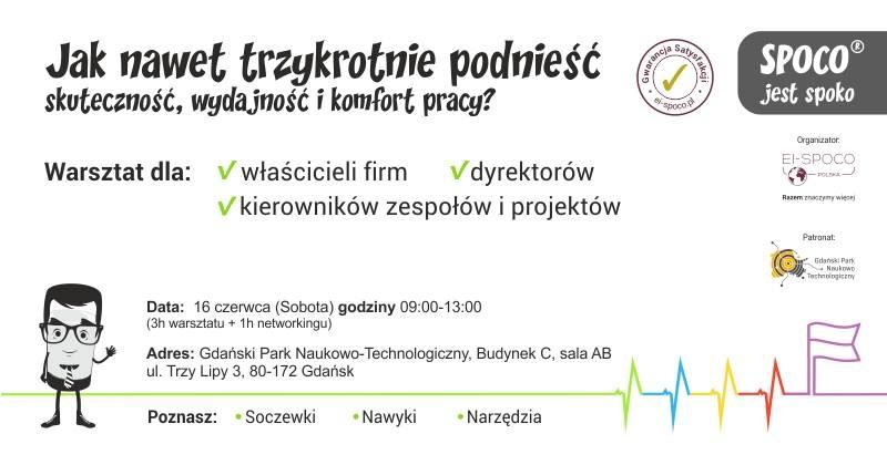 SPOCO® jest spoko – warsztat Gdańsk
