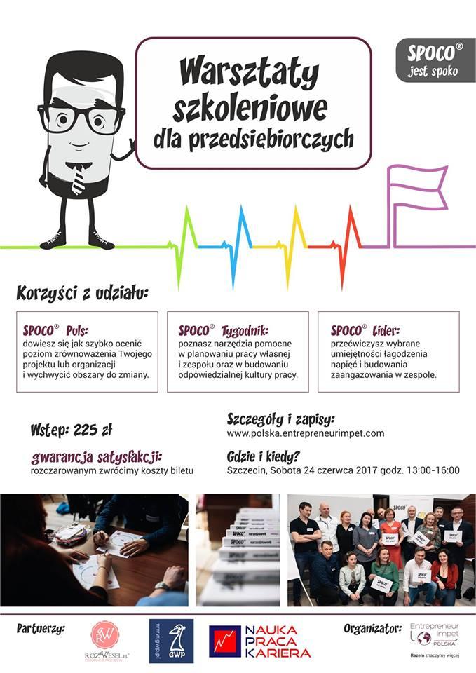 Warsztaty szkoleniowe dla Przedsiębiorców i Przedsiębiorczych – Szczecin