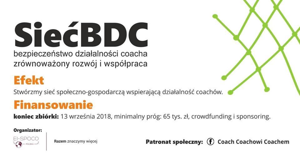 SiećBDC – zbieramy poparcie do 13 września 2018