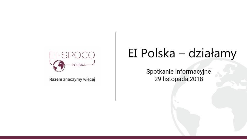EI Polska – podsumowanie działań II fali (webinar)