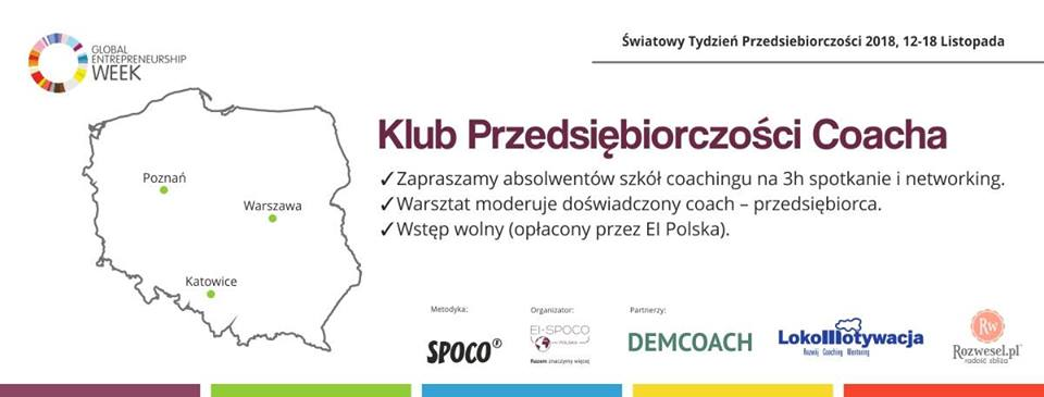 Klub Przedsiębiorczości Coacha (ŚTP2018)
