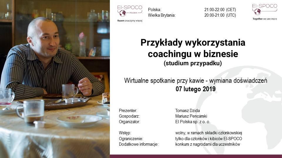 Przykłady wykorzystania coachingu w biznesie (studium przypadku)