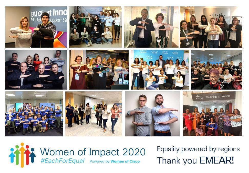 """Equality or Equity?"" – Women of Impact 2020 – CISCO"