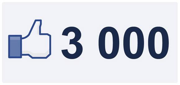 3000 na FB